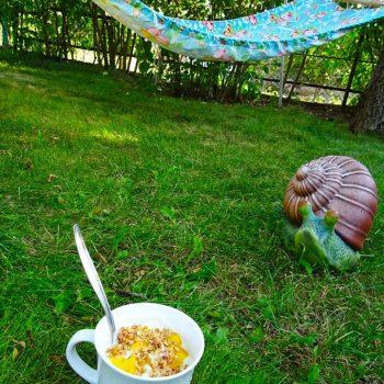 Закуска на тревата